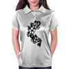 flowers Womens Polo