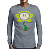 Flowey Color Mens Long Sleeve T-Shirt