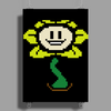 Flowey Color Poster Print (Portrait)