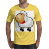 Fluffy Sheep Mens T-Shirt