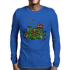 Flute Boy Mens Long Sleeve T-Shirt