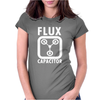 Flux Capacitor Womens Fitted T-Shirt