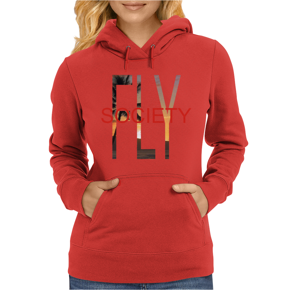 Fly Society Paradise Womens Hoodie