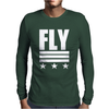 Fly Stars Mens Long Sleeve T-Shirt