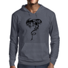 Flying dragon Mens Hoodie