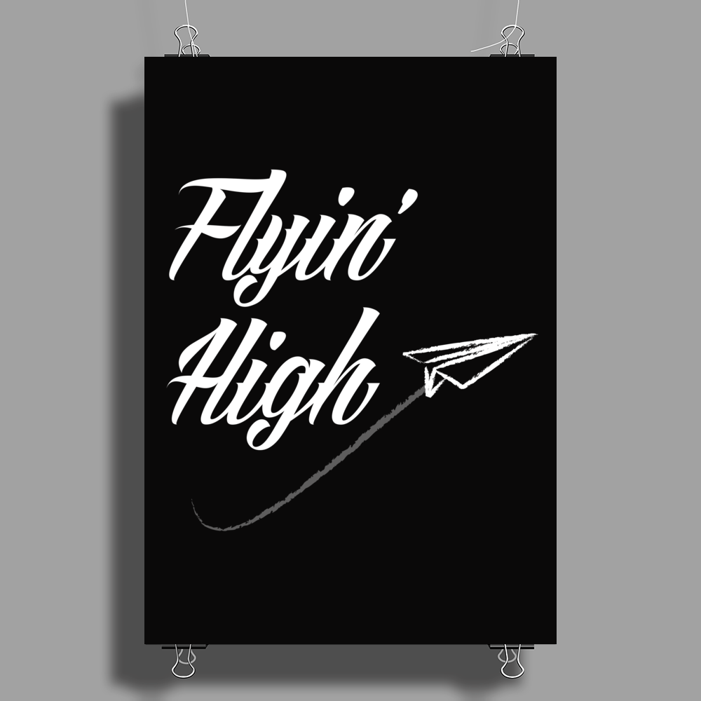 Flying High Poster Print (Portrait)