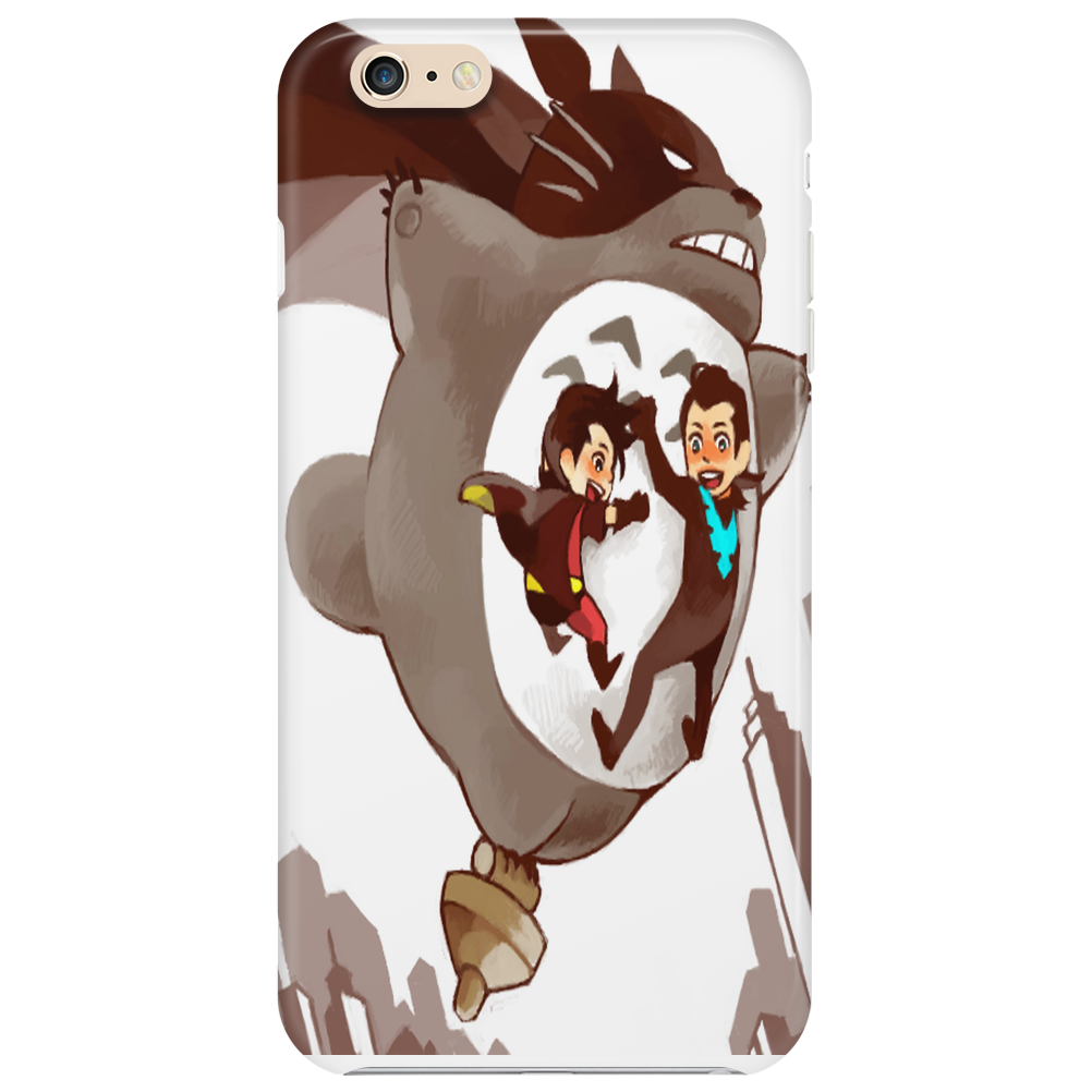 flying totoro batman Phone Case
