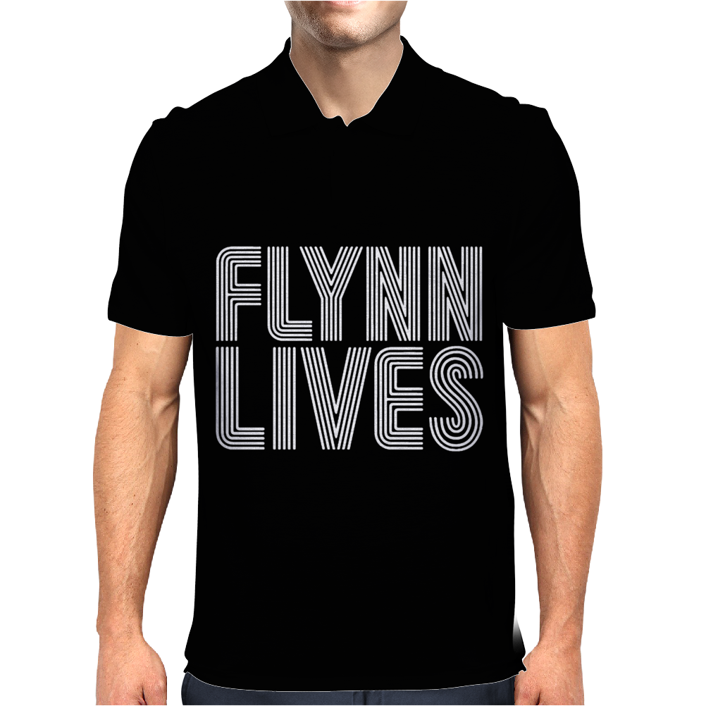 Flynn Lives Mens Polo