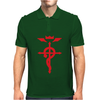 FMA Full Metal Alchemist Cross Inspired Ladies Mens Polo