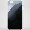 foggy mountains Phone Case