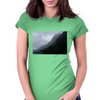 foggy mountains Womens Fitted T-Shirt
