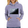 foggy mountains Womens Hoodie
