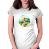 Food for calmars Womens Fitted T-Shirt