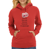 Fool me once shame on you fool me twice you have boobs It's really that simple !  Womens Hoodie