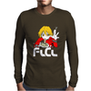 Fooly Cooly FLCL Haruhara Haruko Anime Japanese Mens Long Sleeve T-Shirt