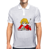 Fooly Cooly FLCL Haruhara Haruko Anime Japanese Mens Polo