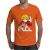 Fooly Cooly FLCL Haruhara Haruko Anime Japanese Mens T-Shirt