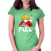 Fooly Cooly FLCL Haruhara Haruko Anime Japanese Womens Fitted T-Shirt
