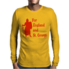 For England and St Mens Long Sleeve T-Shirt