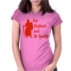 For England and St Womens Fitted T-Shirt