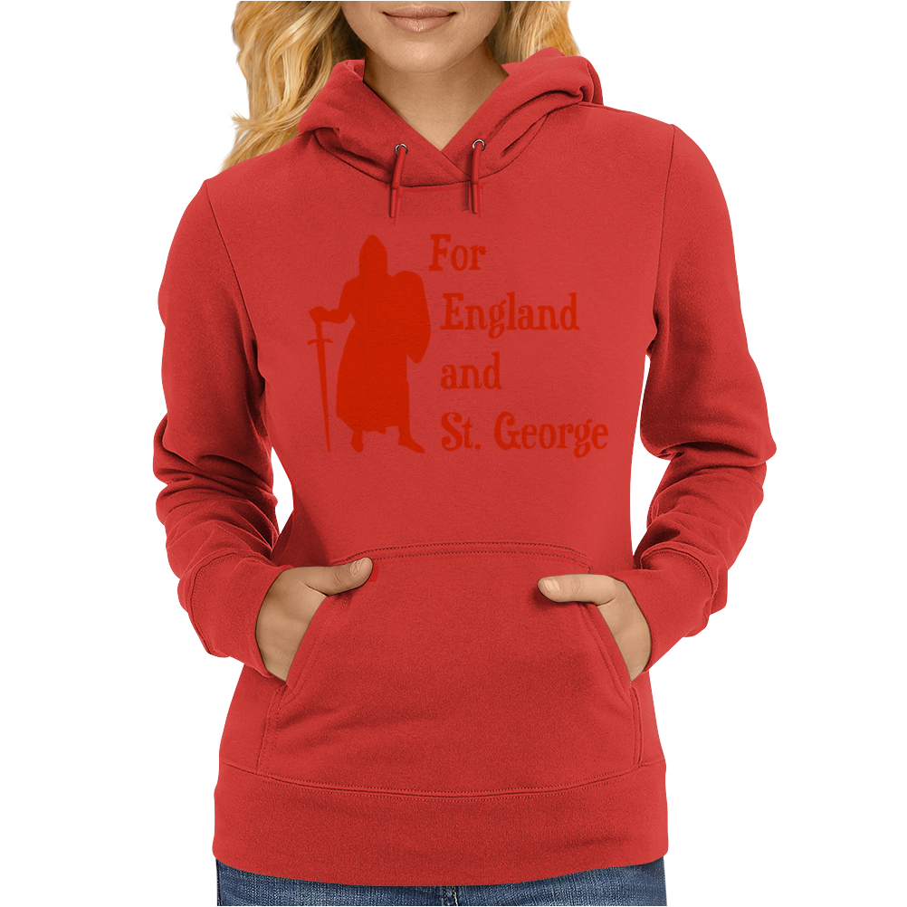 For England and St Womens Hoodie