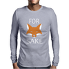 For Fox Sake - Funny Mens Long Sleeve T-Shirt