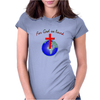 For God so loved Womens Fitted T-Shirt