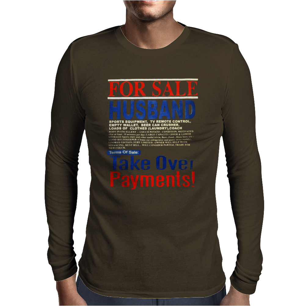 For Sale Husband Mens Long Sleeve T-Shirt