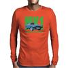 Ford Capri MK1 Classic Car Green/Blue Mens Long Sleeve T-Shirt
