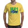 Ford Capri MK1 Classic Car Green/Blue Mens T-Shirt