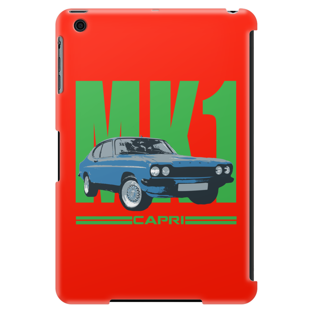 Ford Capri MK1 Classic Car Green/Blue Tablet