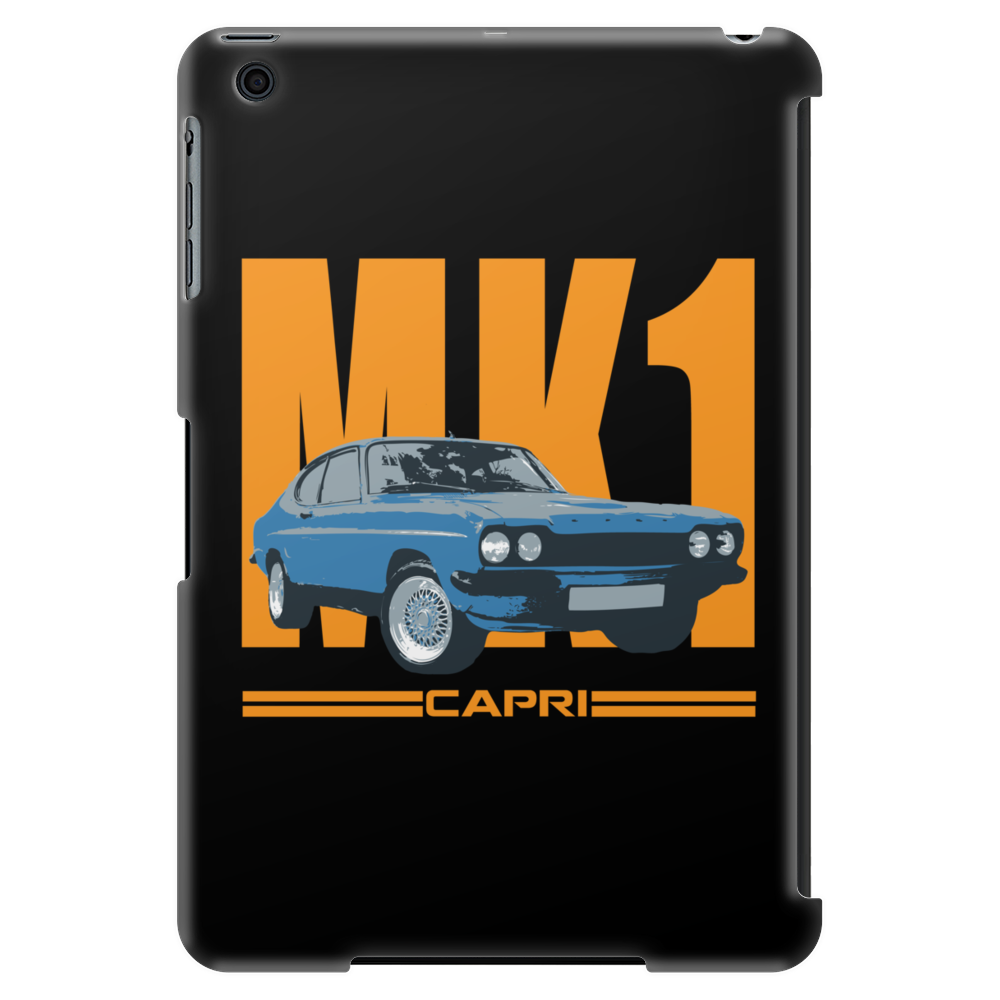 Ford Capri MK1 Classic Car Orange/Blue Tablet