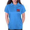 Ford Capri MK1 Classic Car Red/Blue Womens Polo