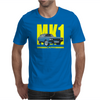 Ford Capri MK1 Classic Car Yellow/Blue Mens T-Shirt
