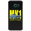 Ford Capri MK1 Classic Car Yellow/Blue Phone Case