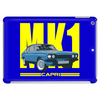 Ford Capri MK1 Classic Car Yellow/Blue Tablet