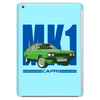 Ford Capri Retro Classic Car Blue/Green Tablet