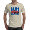 Ford Capri Retro Classic Car Blue/Red Mens T-Shirt
