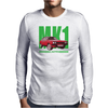 Ford Capri Retro Classic Car Green/Red Mens Long Sleeve T-Shirt