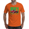 Ford Capri Retro Classic Car Green/Red Mens T-Shirt