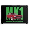 Ford Capri Retro Classic Car Green/Red Tablet