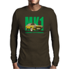 Ford Capri Retro Classic Car Green/Yellow Mens Long Sleeve T-Shirt