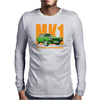 Ford Capri Retro Classic Car Orange/Green Mens Long Sleeve T-Shirt