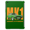 Ford Capri Retro Classic Car Orange/Green Tablet