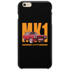 Ford Capri Retro Classic Car Orange/Red Phone Case