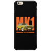 Ford Capri Retro Classic Car Orange/Yellow Phone Case