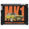 Ford Capri Retro Classic Car Orange/Yellow Tablet