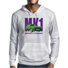 Ford Capri Retro Classic Car Purple/Green Mens Hoodie
