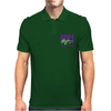 Ford Capri Retro Classic Car Purple/Green Mens Polo