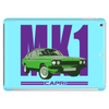 Ford Capri Retro Classic Car Purple/Green Tablet